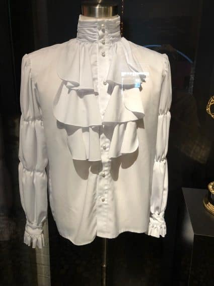 Jerry Seinfeld's famous puffy pirate shirt at the Comedy Center.
