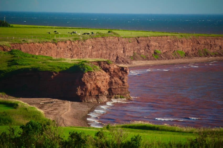 West Cape, Prince Edward Island - photo by Rachael McGrath