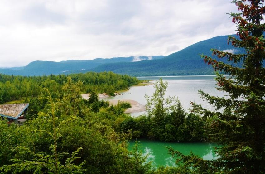 Mendenhall Lake, Juneau Alaska.
