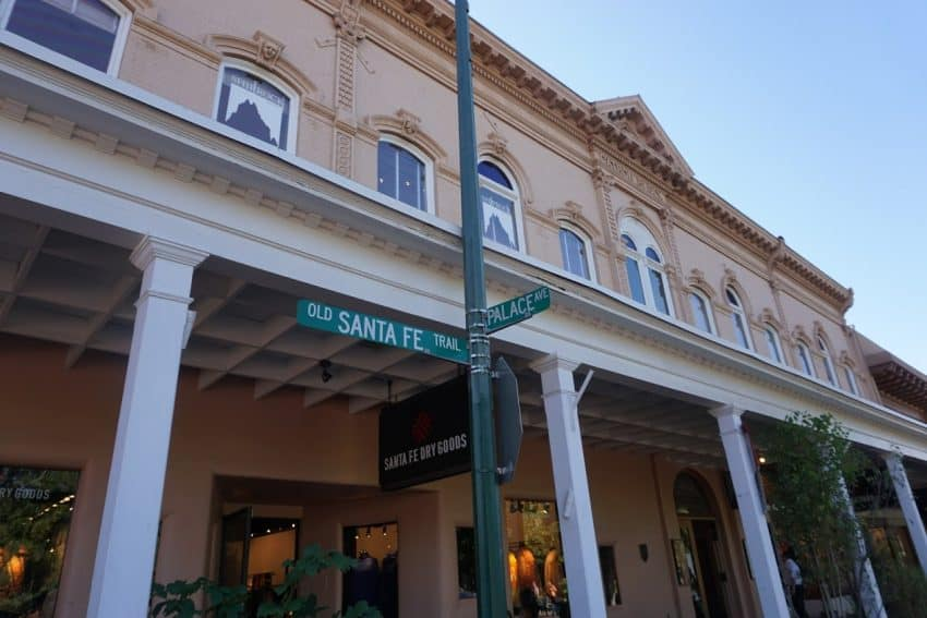 The legendary Santa Fe Trail and the Plaza, Santa Fe to Taos.