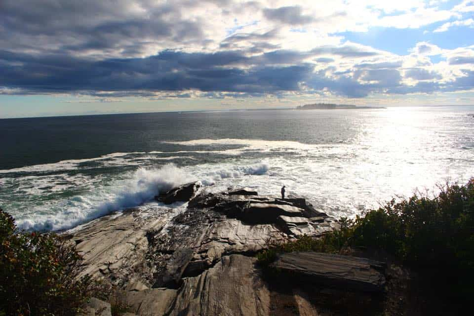 Two Lights State Park in Cape Elizabeth is great for views of sea-splashed rocks and the ocean.