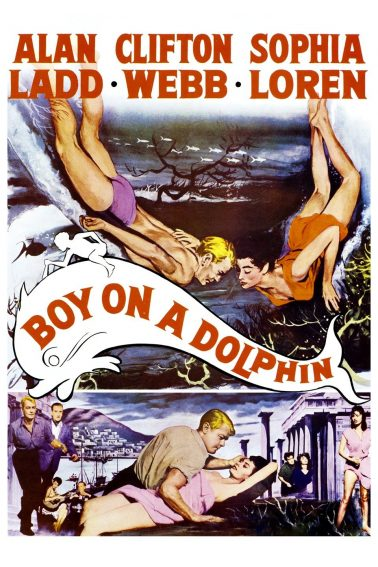 "The movie ""Boy on a Dolphin"" was filmed in Hydra, Greece."