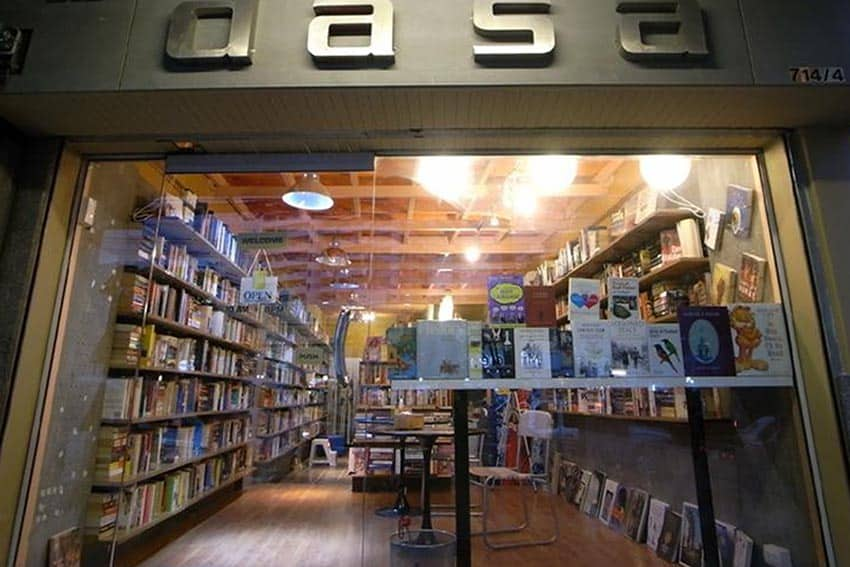 Dasa second hand bookstore in Bangkok Thailand.