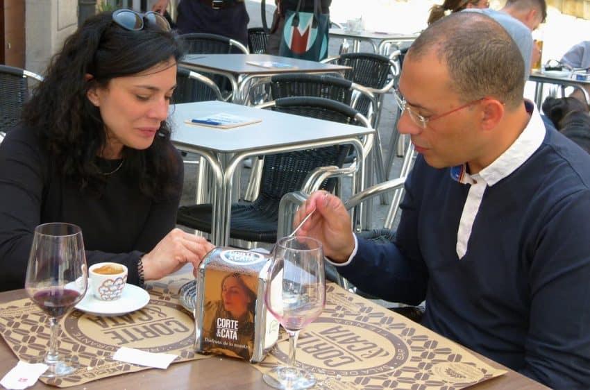 Anselmo Perez opened his restaurant Corte & Cata two years ago.