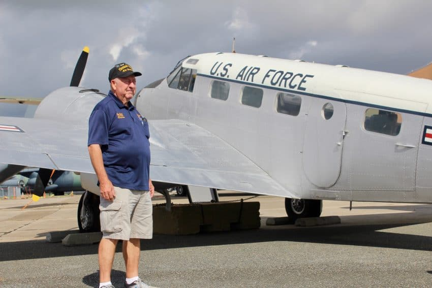 Don Hall at Air Mobility Command Dover Delaware