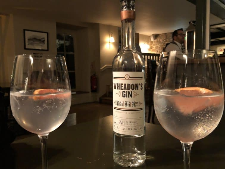 Wheadon's gin is distilled on Guernsey.