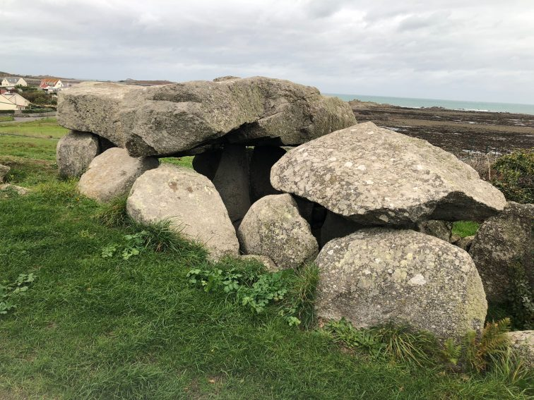 An ancient burial location on Guernsey.