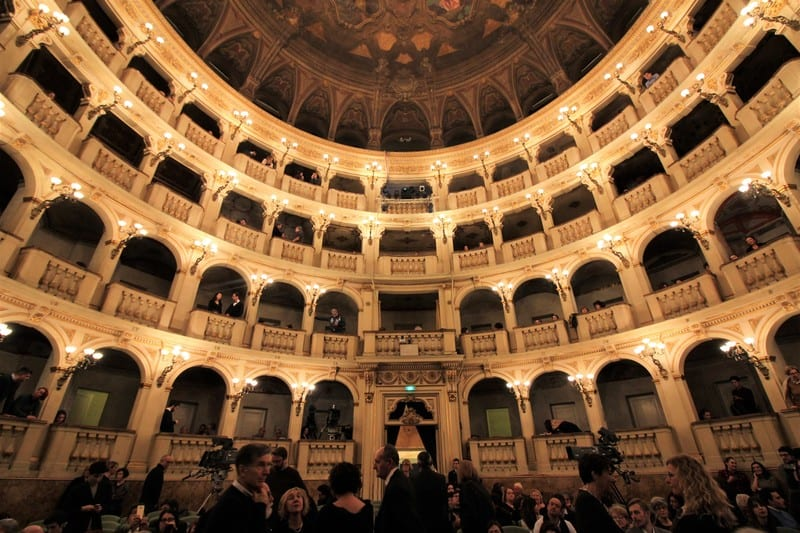 Historic opera house Teatro Communale di Bologna is an eyeful and earful of classical Italian style.