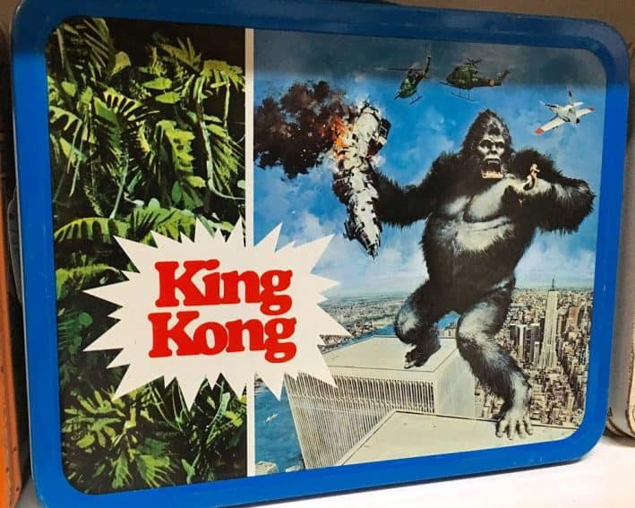 King Kong standing astride the World Trade Center was made in the 1970s.