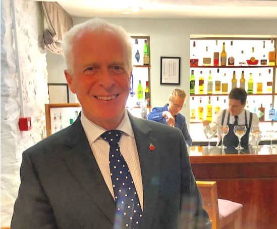 Simon Dufty, GM of Le Fregate Hotel on Guernsey.