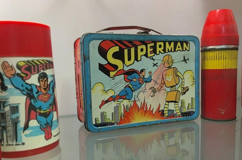 Superman is one of the most valuable lunch boxes.