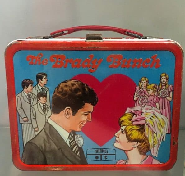 The Brady Bunch was a favorite lunch box for little girls.