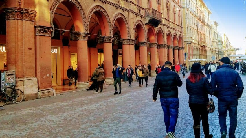 The streets of Bologna are paved with a rich history and have always been a main Italian thoroughfare for travelers.
