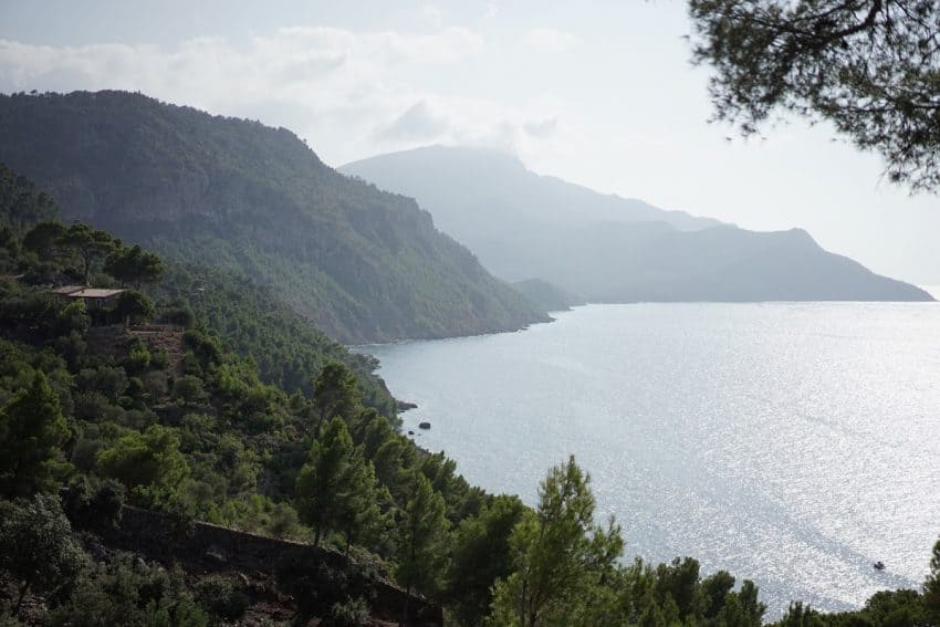 The incredible view on the way to Port d'Estaca, Mallorca, Spain.