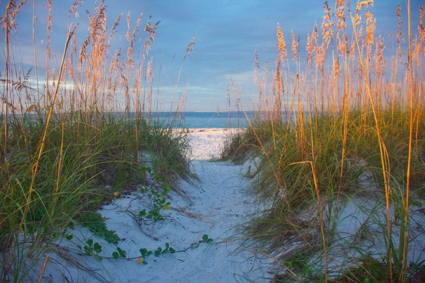 Anna Maria Beach, Gulf Coast, Florida. GoNOMAD Travel.