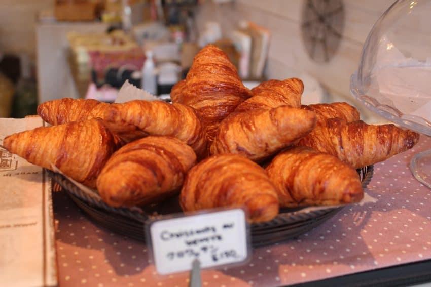 croissants in Narita