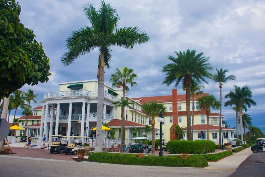 Gasparilla Inn, Boca Grande, Florida's Gulf Coast. GoNOMAD travel.