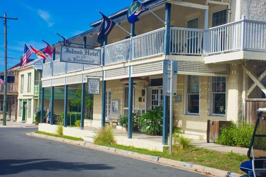 The Island Hotel on Cedar Key.
