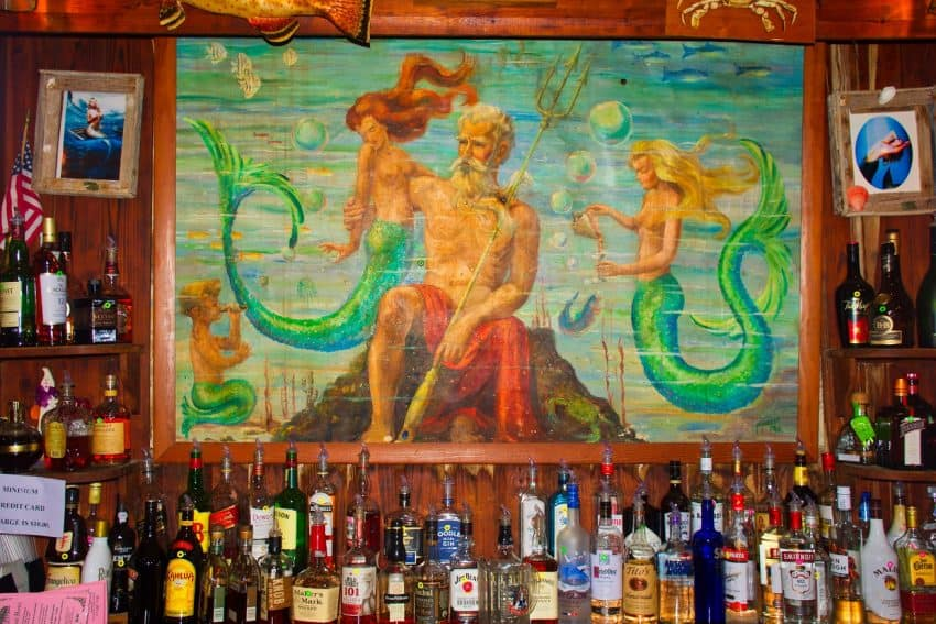 The Neptune bar at the Island hotel Cedar Key