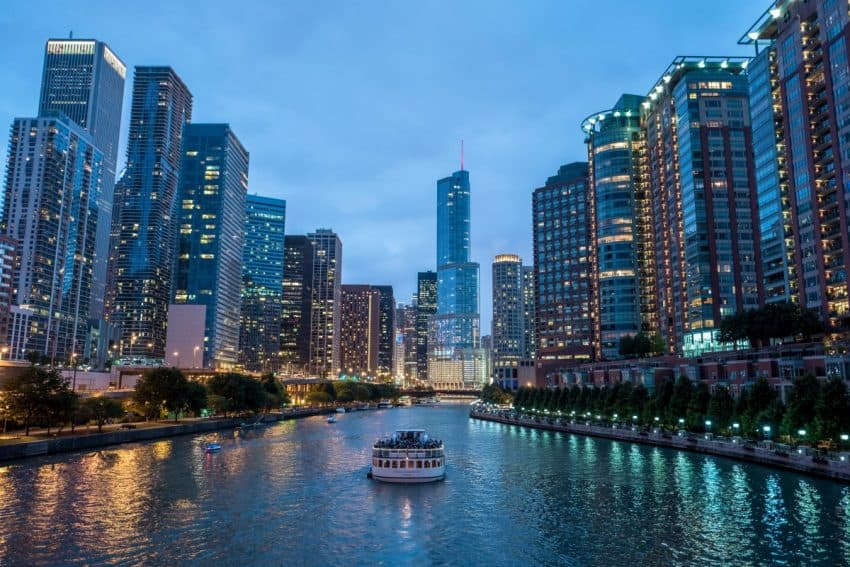 Chicago Riverfront.