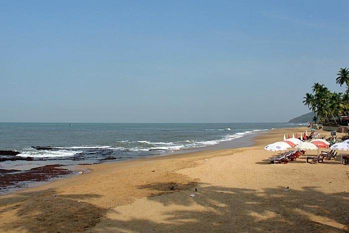 Indian Ocean, Anjuna, Goa, India (Photo by Susan McKee)