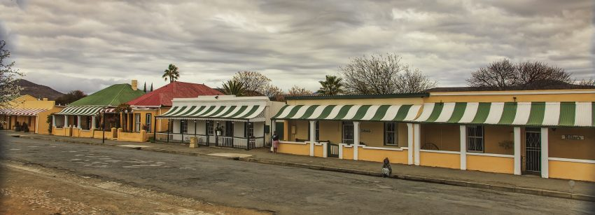 A beautiful street-scape of historical homes in Cradock.