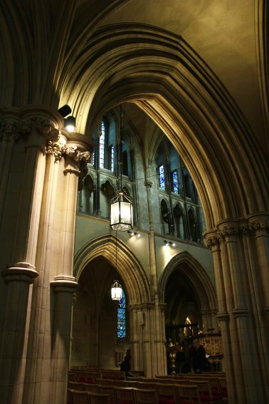 Astonishing architecture of Christ Church Cathedral.