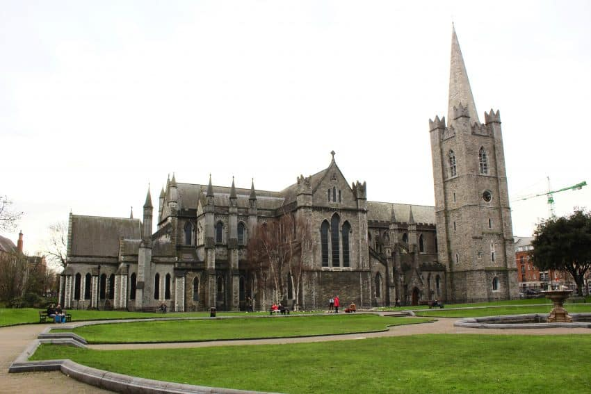 Saint Patricks Cathedral.