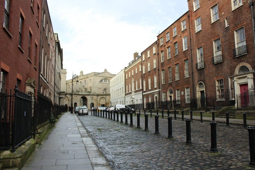 Henrietta Street, that once housed over 1,000 residents at one time.