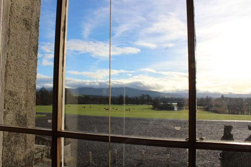 Views of the Russborough House property.