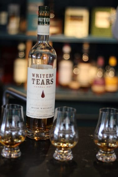 Writers Tears Whiskey at Walsh Whiskey Distillery.