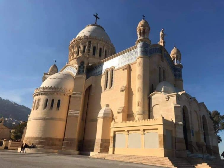 Notre Dame d'Afrique, Algiers - The Cathedral of Algiers