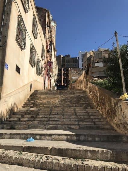 Old Town Oran Algeria
