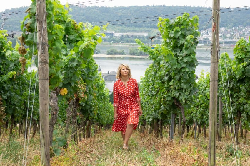 Samantha Brown on a Rhine River Cruise.