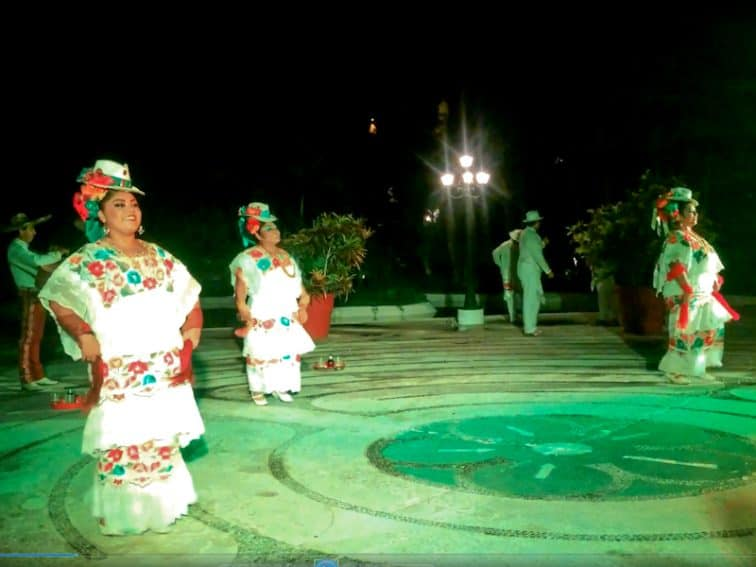 The colorful traditional folk dances are an exceptionally charming experience under the stars at the island's resort.