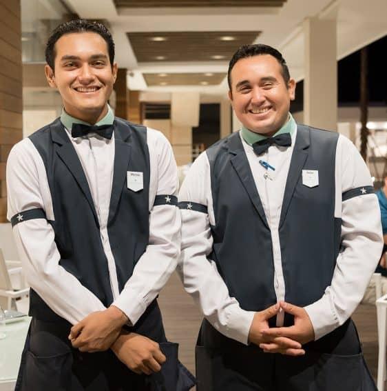 Marcos and Victor. Star Prestige staff
