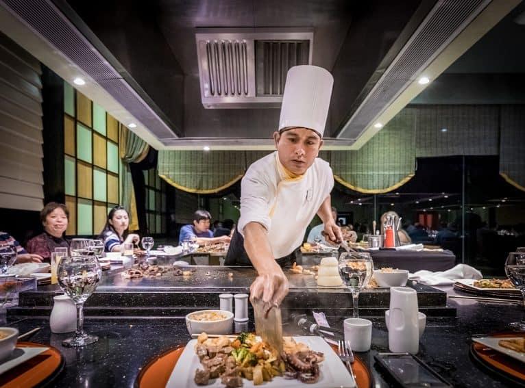 Iberostar Cancun Japanese restaurant Naga Hibachi