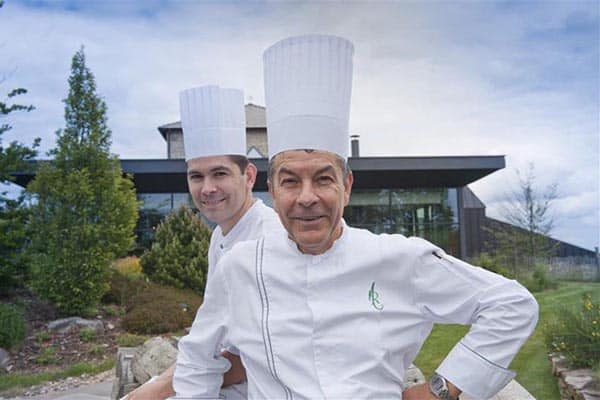 Chef Regis Marcon. Auvergne Tourism photo.