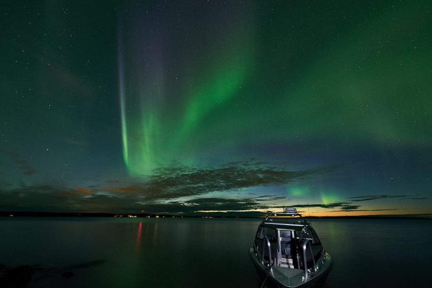 The Northern Lights are most vivid during the autumn months, which makes this adventure perfect for the view!