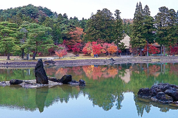 Hiraizumi's Motsuji Pure Land Garden.