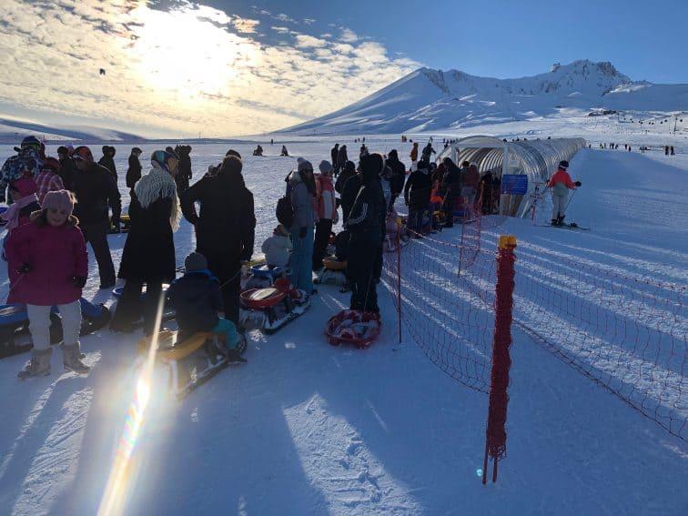 Turkey: Skiing Mount Erciyes 3