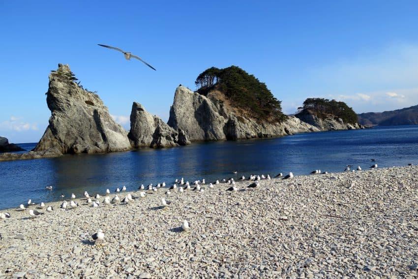 Jodogahama Beach.