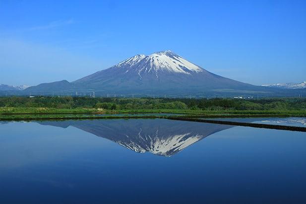Mt. Iwate, near Morioka. Courtesy of Iwate Prefecture