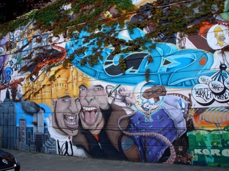 Puerto Rico is filled with street art and culture.