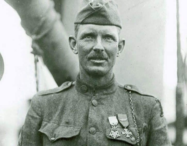 Sgt Alvin York, Medal of Honor recipient in WW I