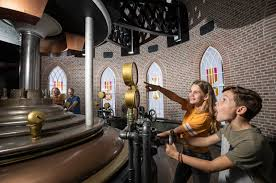 The new Waterwolf attraction allows guests to see for themselves what it would have been like to work the largest steam engine. (madurodam.nl)