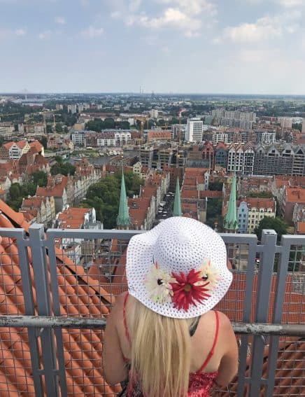 The View of Gdansk, Poland, from St. Mary's tower. Patti Morrow photos