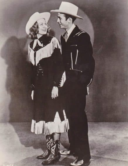Hank and Audrey Williams performed together.