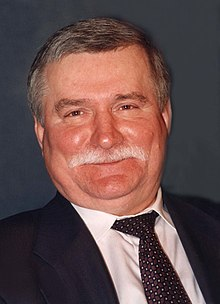 Lech Walesa, the Hero of Poland's Solidarity movement, which got its start in Gdansk.