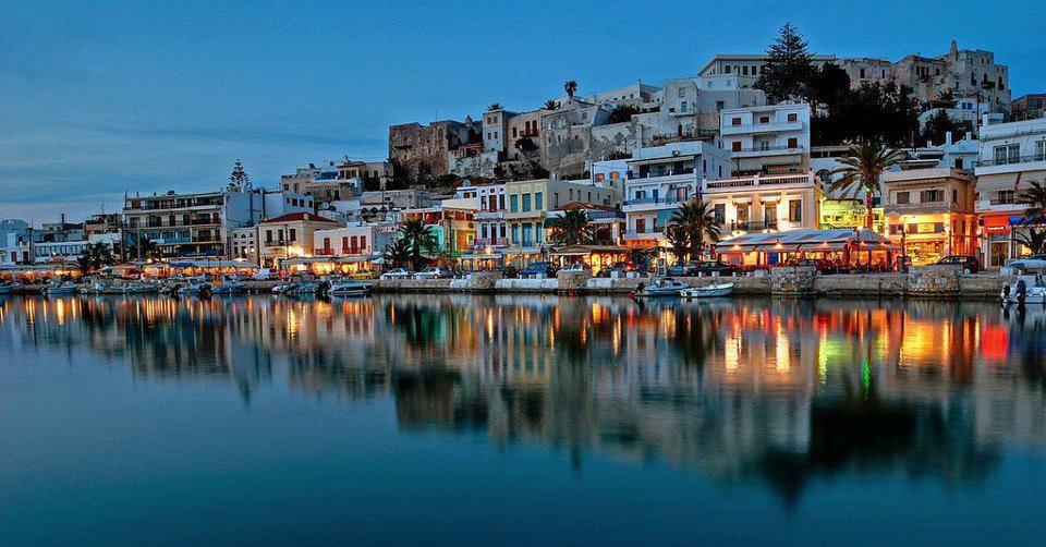 The harbor at Naxos, Greece. Gary Van Hass photos.